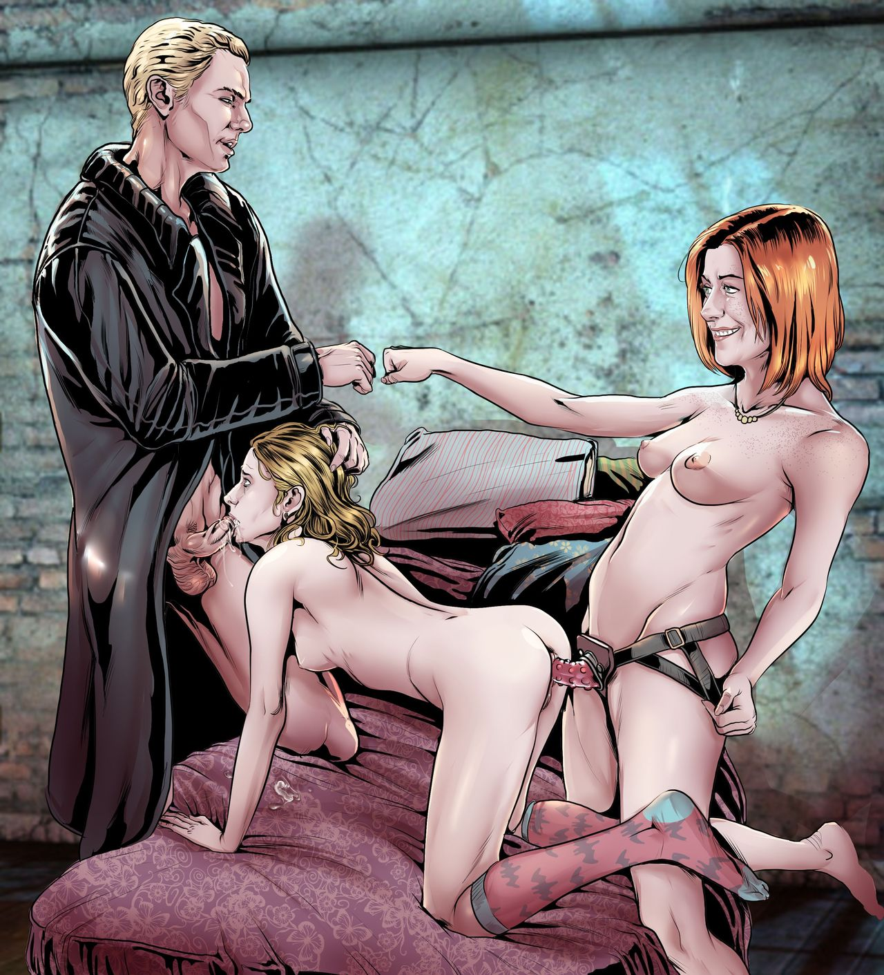 Buffy the vampire slayer porn