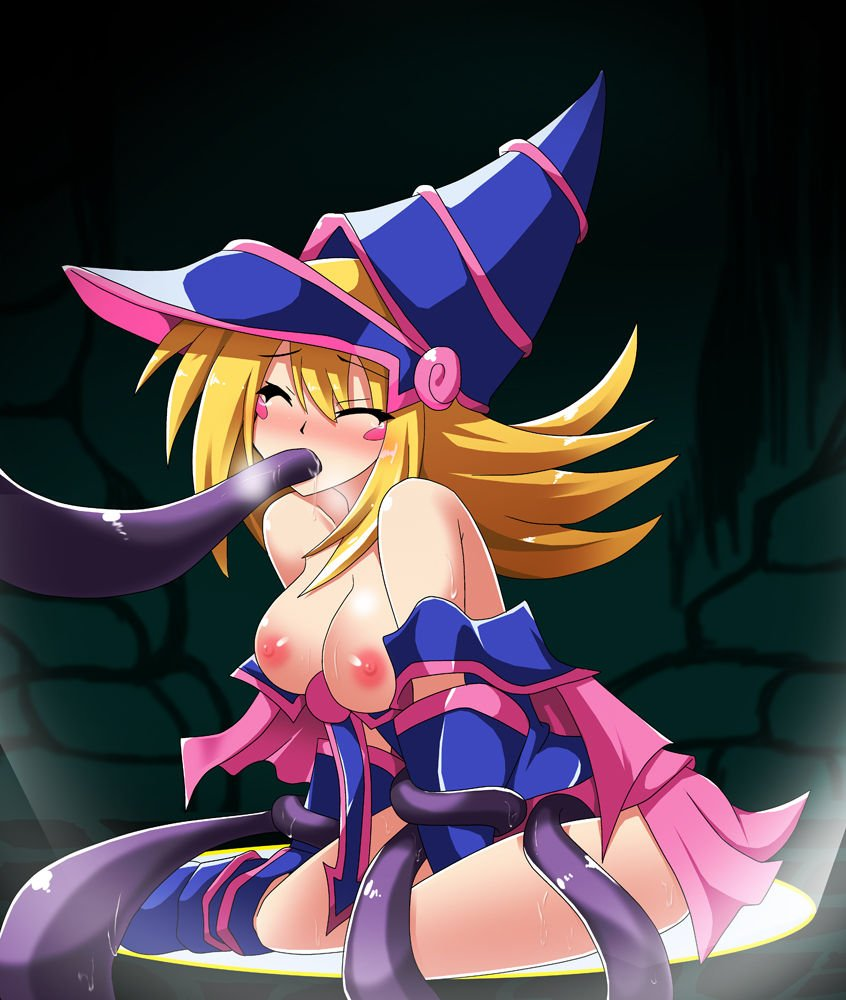 Girl in dark magician girl costume porn video — photo 13