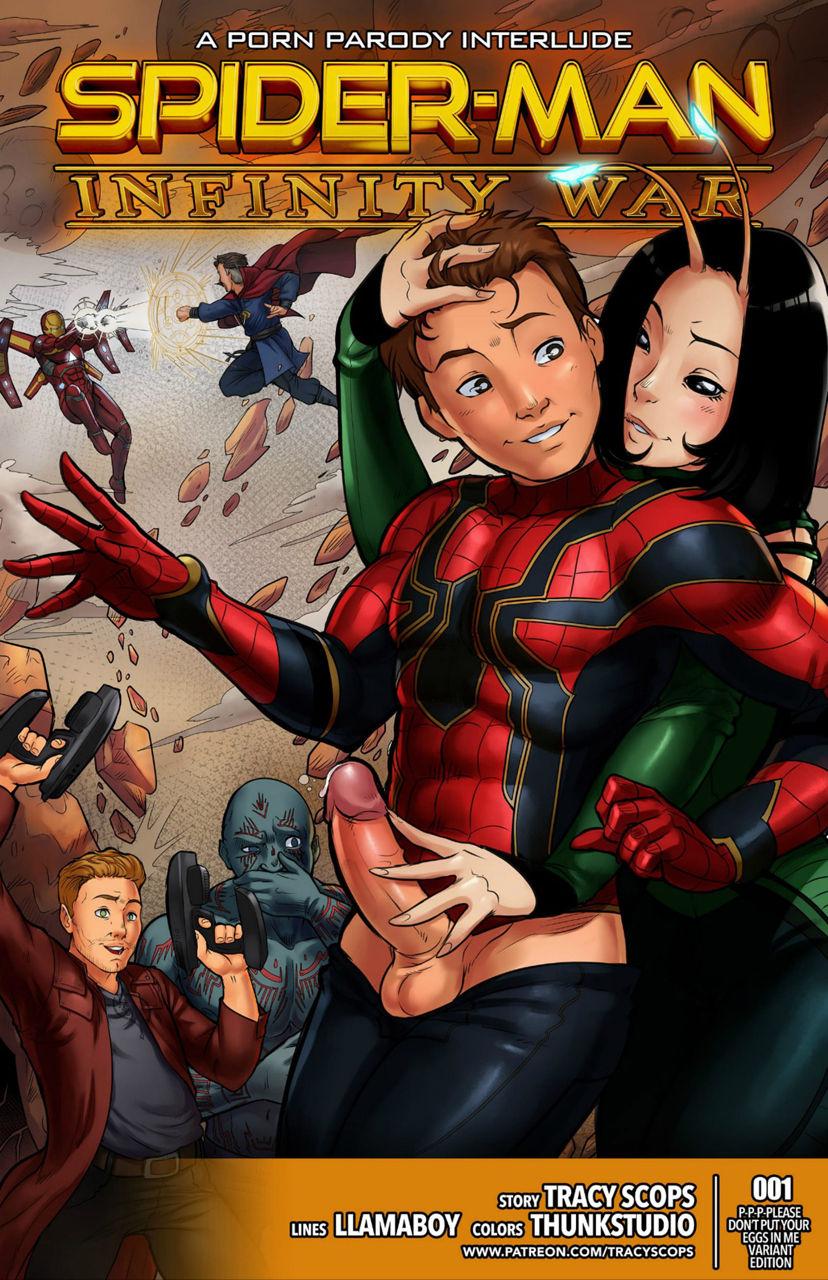 Tracyscops(LLAMABOY)- Spider-man Infinity War [Portuguese-BR] [DiegoVPR]