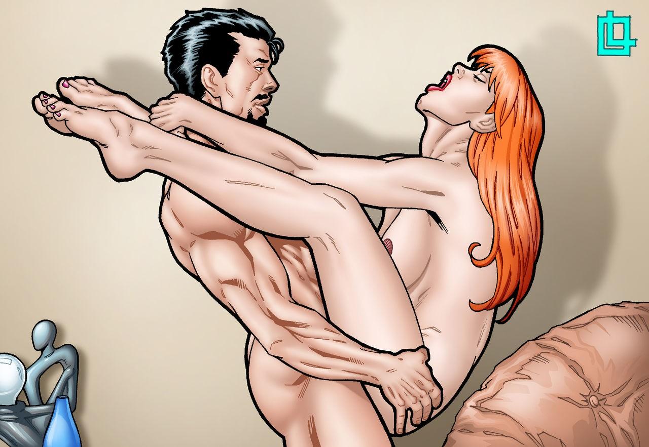 LeandroComics – Mary Jane fucked by Tony Stark