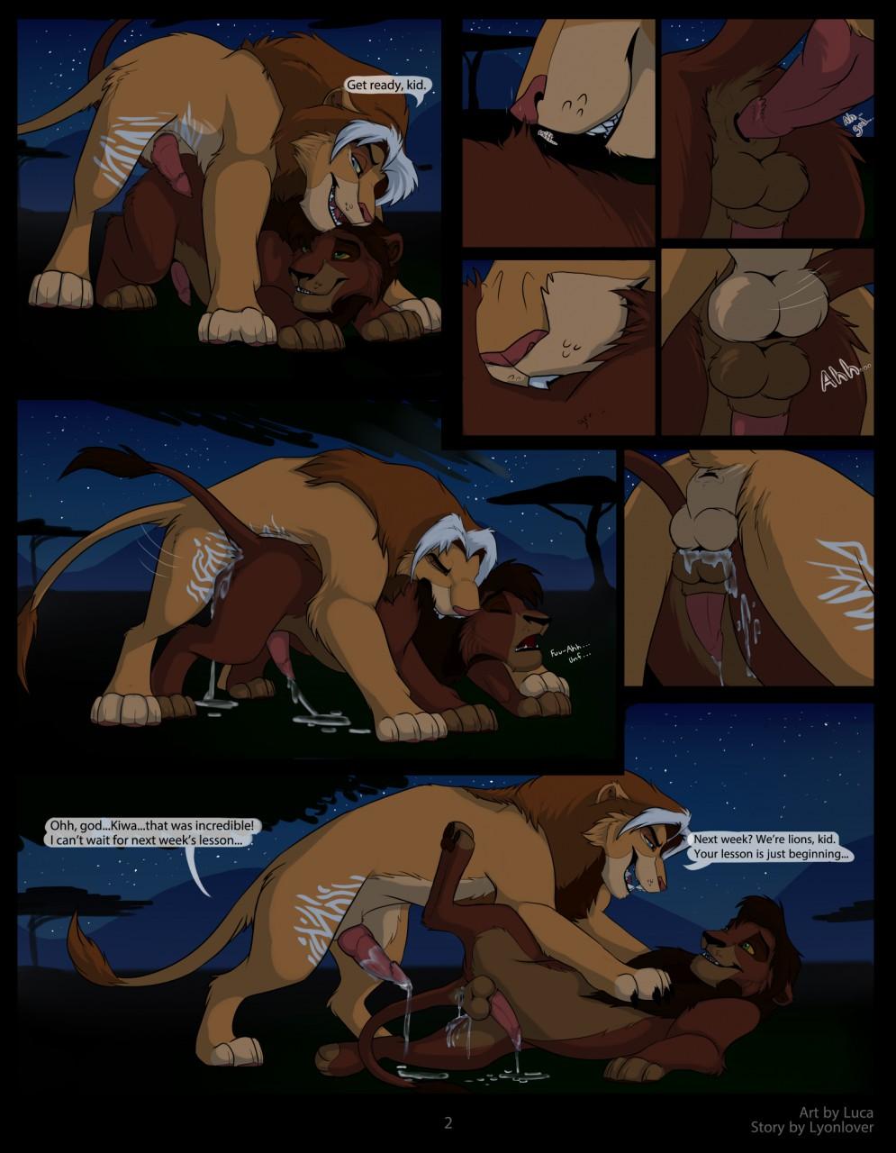 The Lion King Гей Порно Комикс