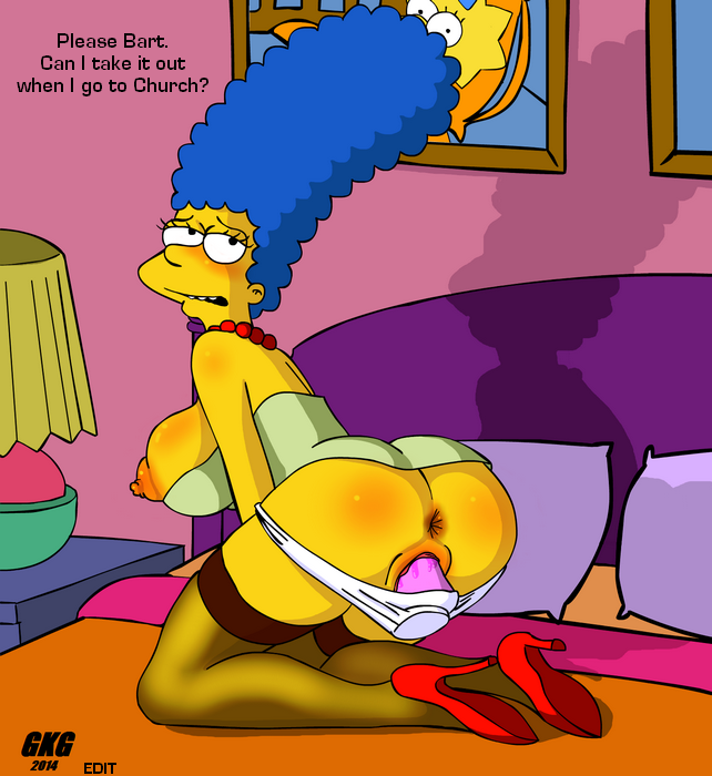 [GKG] Marge & Bart (The Simpsons)