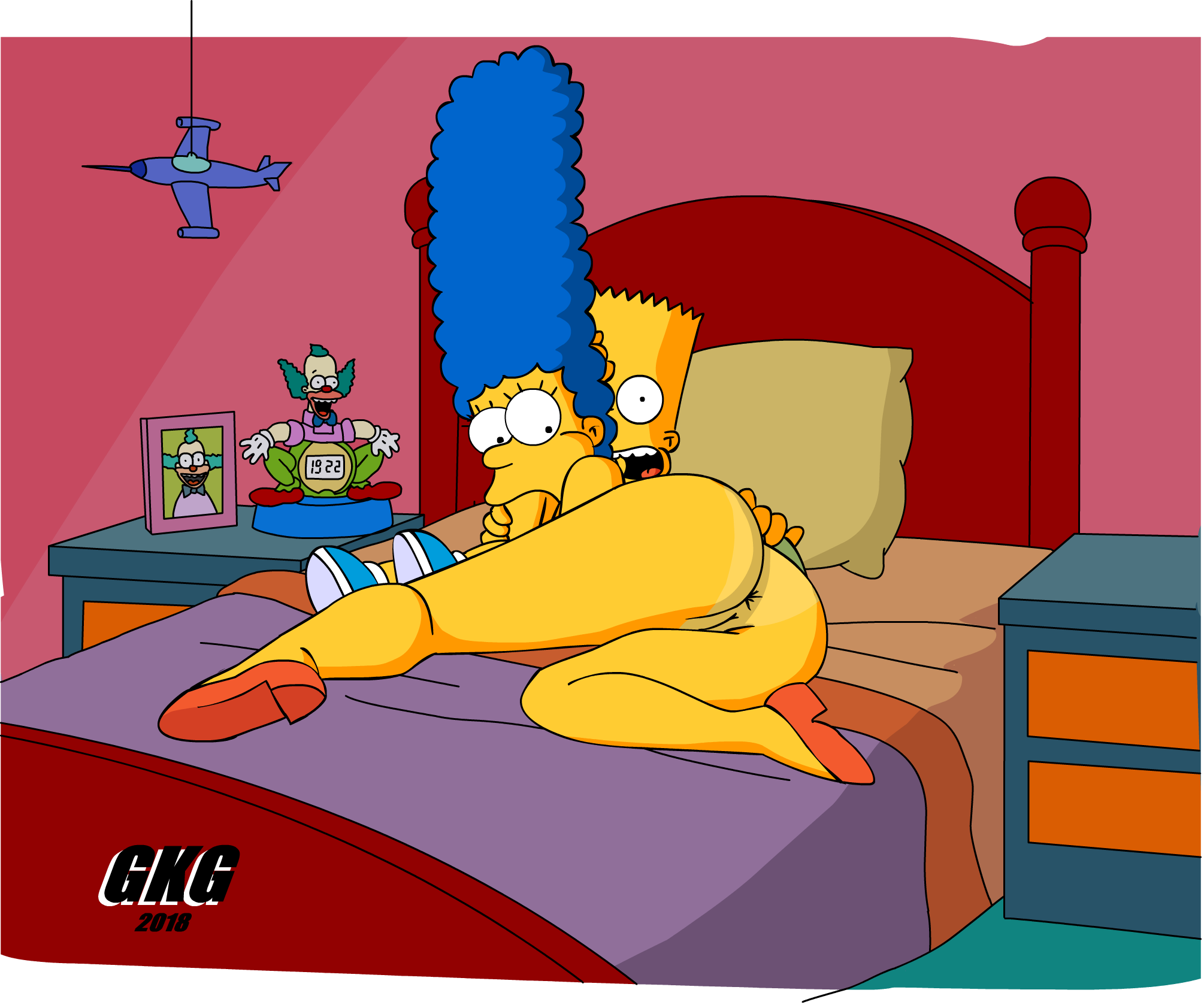 Marge Simpson Naked And Pregnant