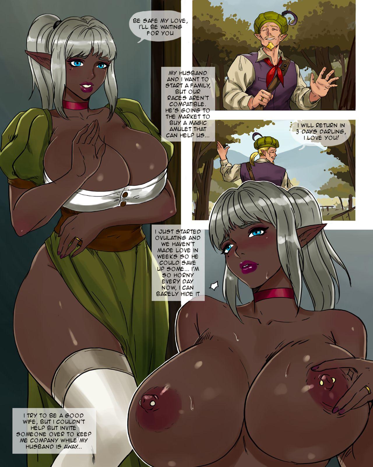 Dark elf porn